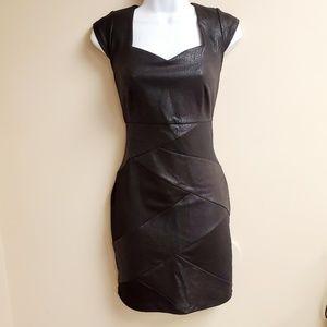 Womens Black fitted Zip up BeBop Black Dress M
